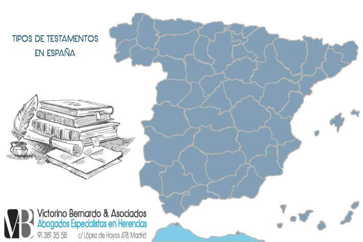 Tipos de Testamentos en España y Madrid