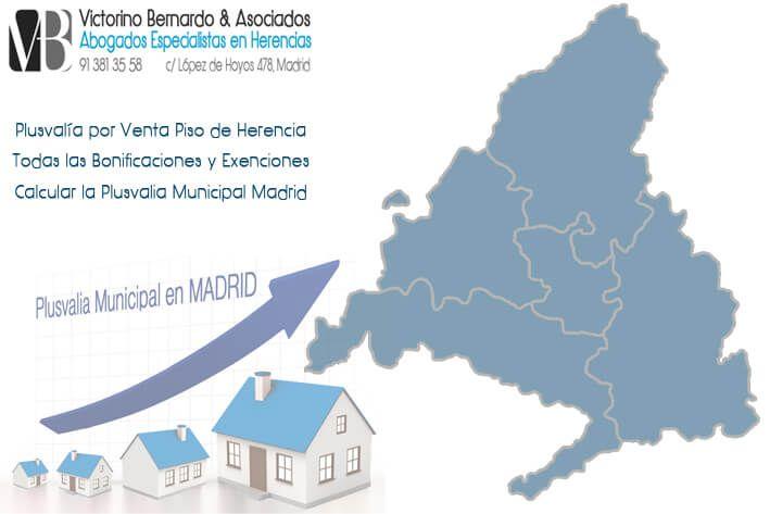 Calcular Plusvalia Municipal Madrid en 2017