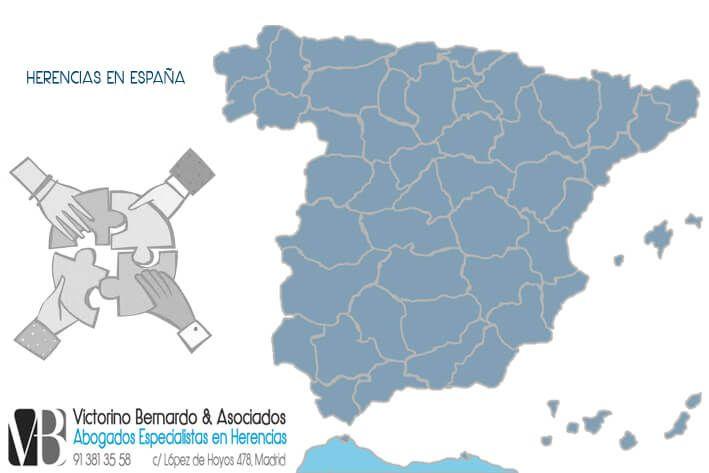 Tipos de Herencia en España